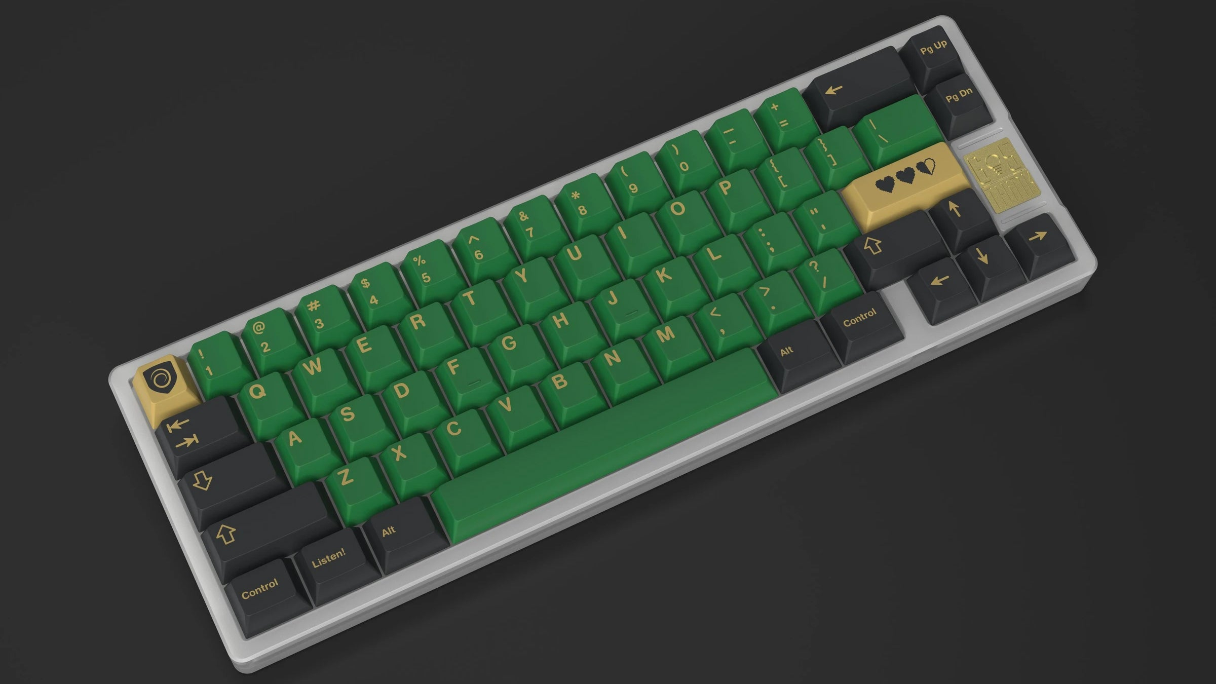 Legend Of Zelda Keycaps For Heroic Keyboards