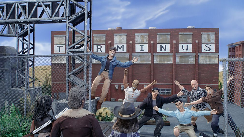 Daniel Radcliffe Is In Robot Chicken's Walking Dead Special Because The Actual Actor Wouldn't Sing