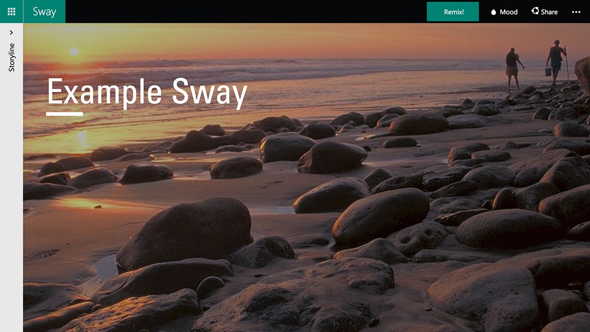 Use Microsoft Sway to Make Building Presentations Easy