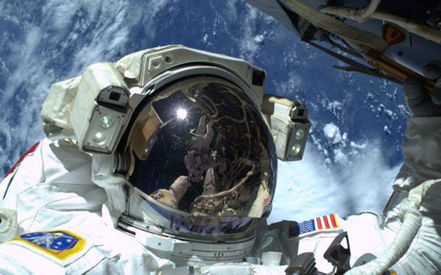 Astronauts Take the Best Selfies