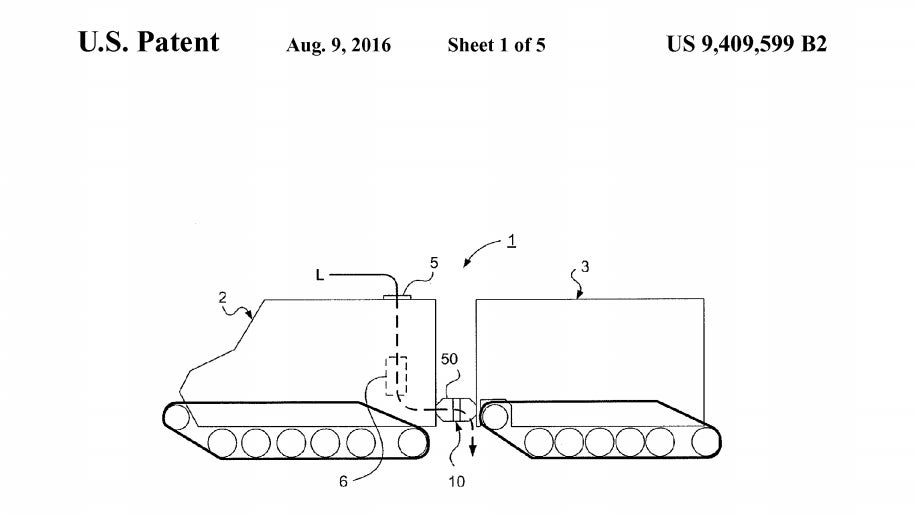 Apple's First Vehicle-Related Patent Is For A Bendy Bus With Tank Treads