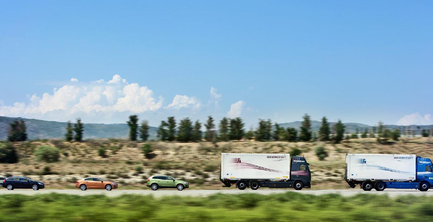 A Convoy of Autonomous Trucks Just Drove Across Europe