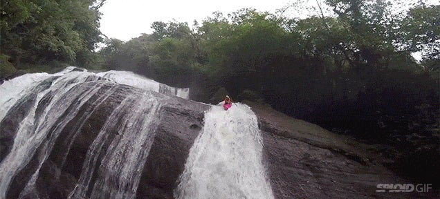Video: Kayaking down waterfalls is just pure crazy