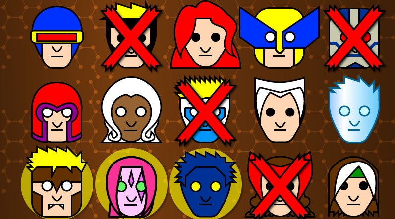 A History Of X-Men Time Travel, In One Chart