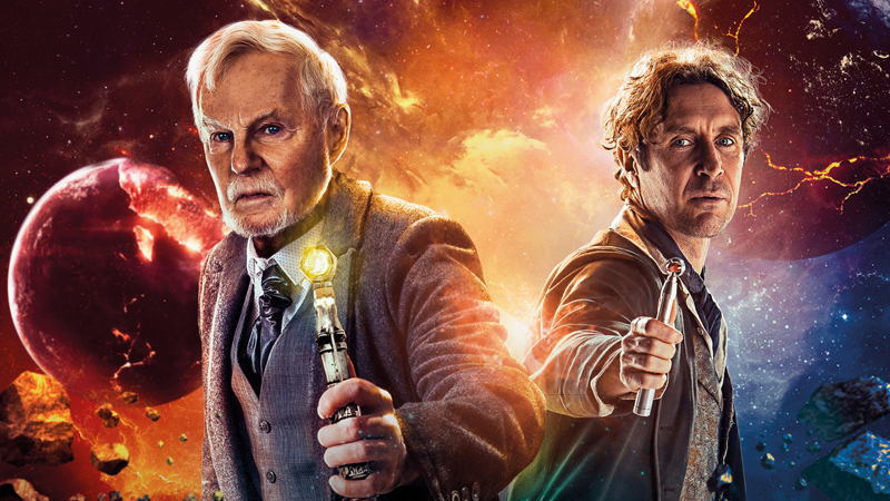 Derek Jacobi's Master Will Face Paul McGann's Doctor In A New Time War Audio Drama