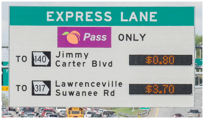 Would You Take the Bus If It Earned You Free Credits For Tolls?