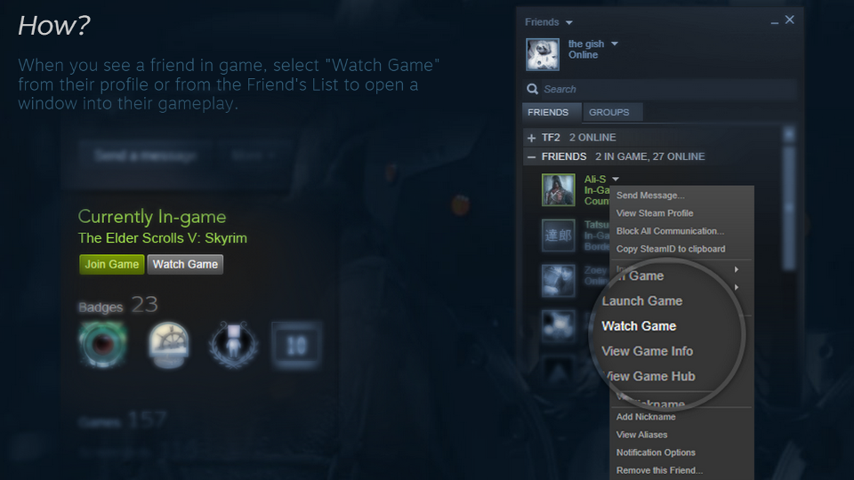 You Can Now Livestream Games On Steam