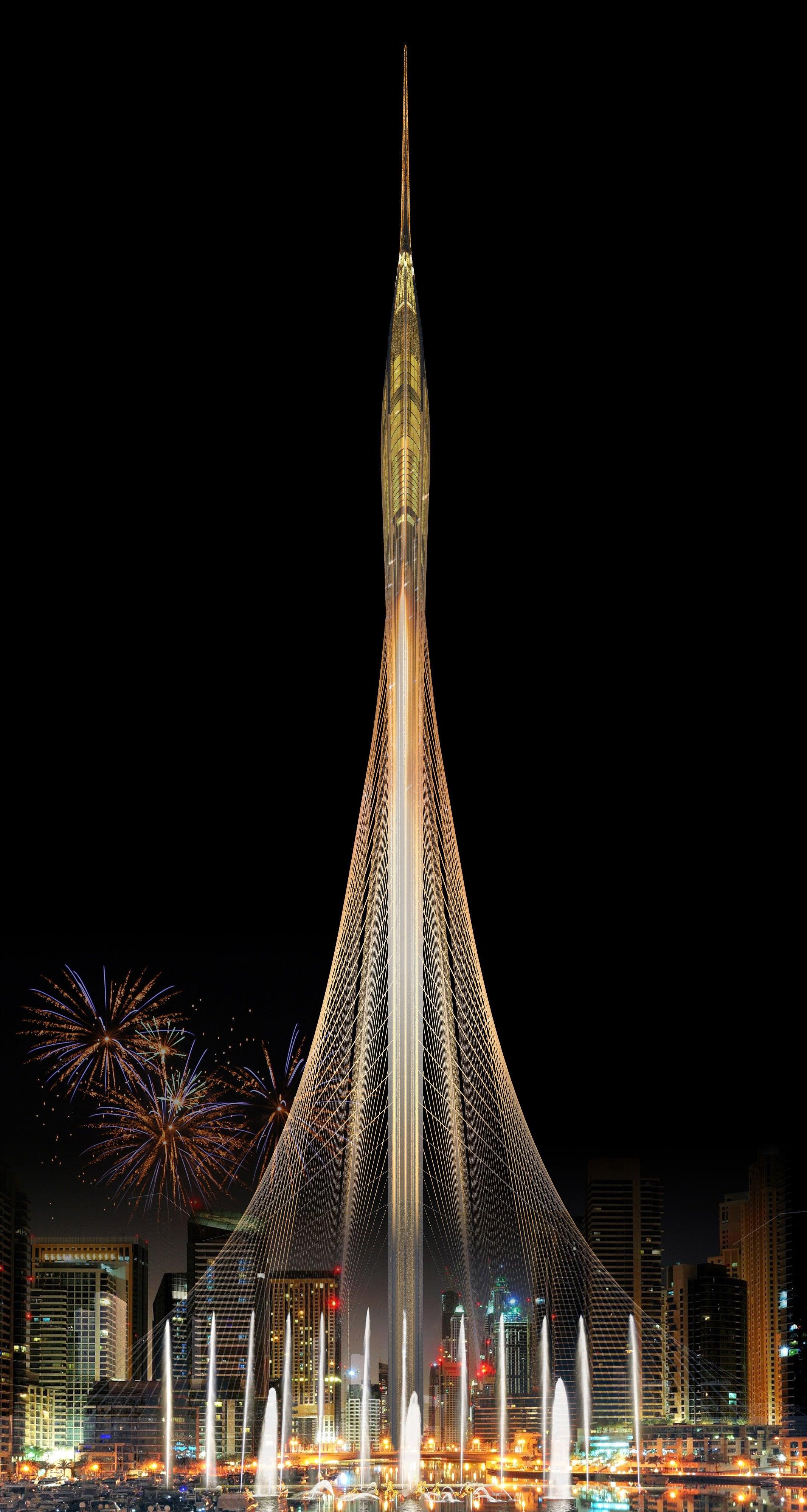How Long Before Dubai's New Observation Tower Is Engulfed in Flames?