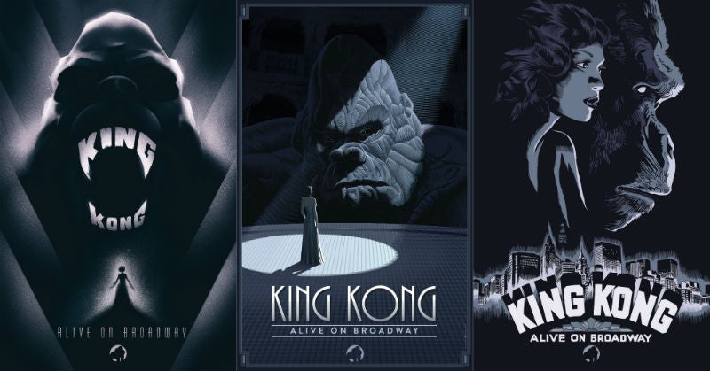 These Beautiful King Kong: Alive On Broadway Posters Are Their Own Wonders Of The World