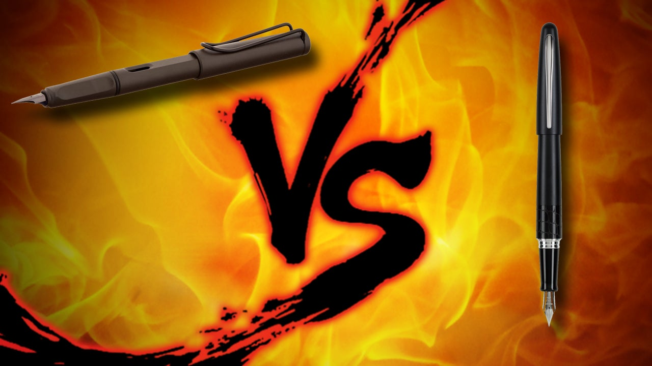Budget Fountain Pen Showdown: Lamy Safari vs Pilot Metropolitan