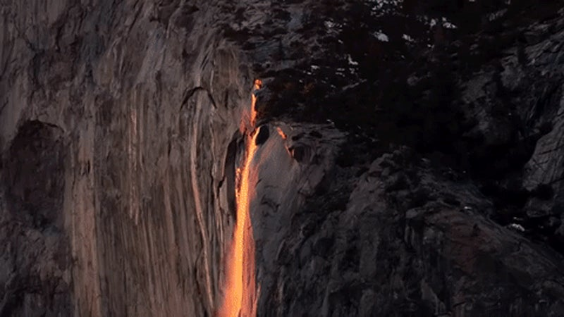 I Could Stare At Yosemite's Natural Firefall All Day Long