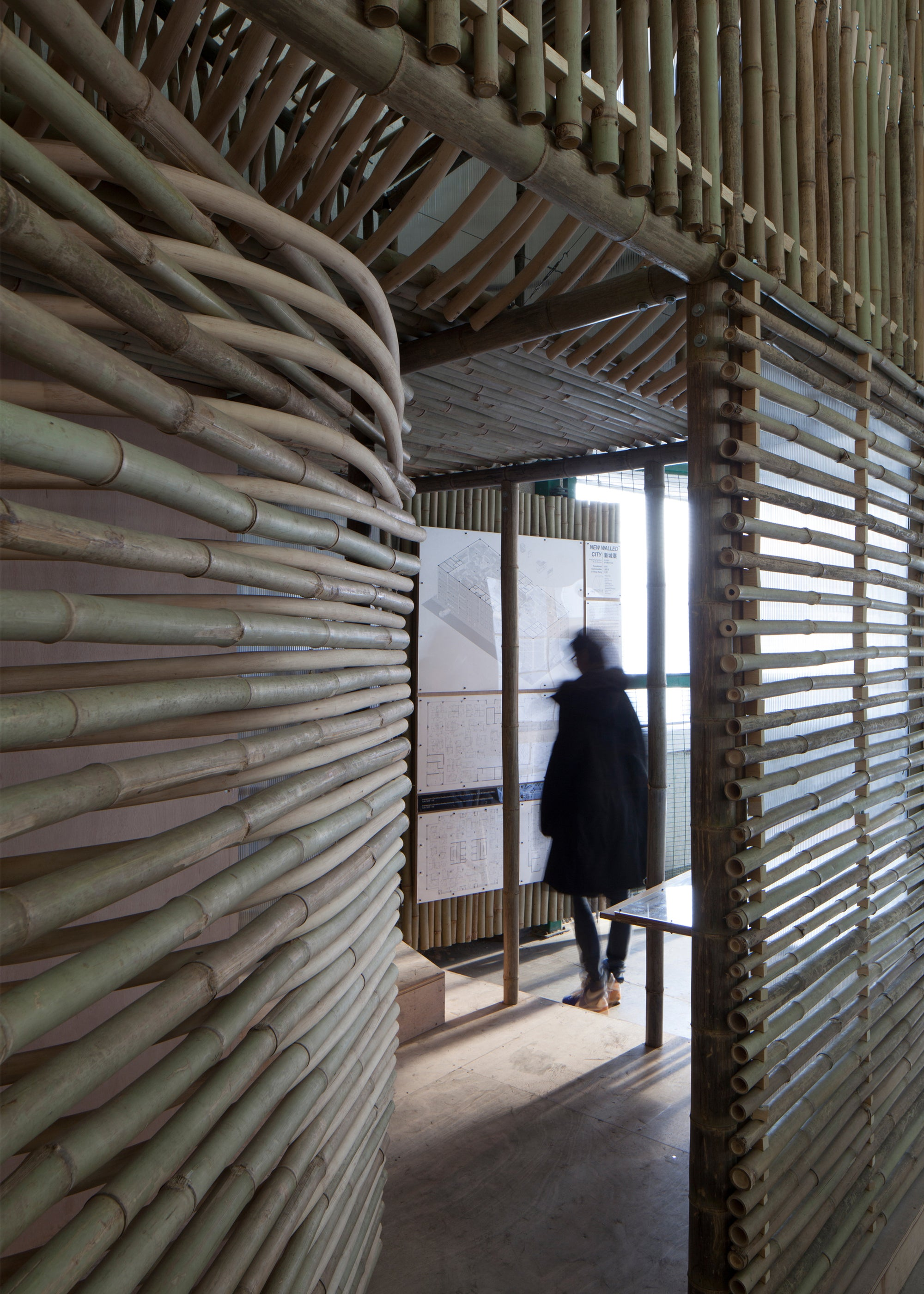 These Bamboo Micro-Homes Would Turn Abandoned Buildings Into Villages