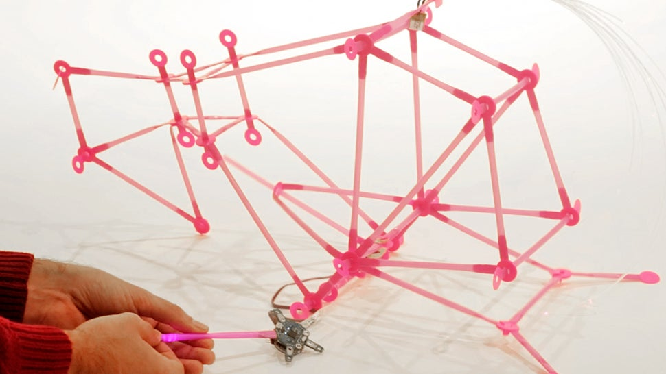 You Can Finally Build a Robot Army Using Cheap Plastic Drinking Straws