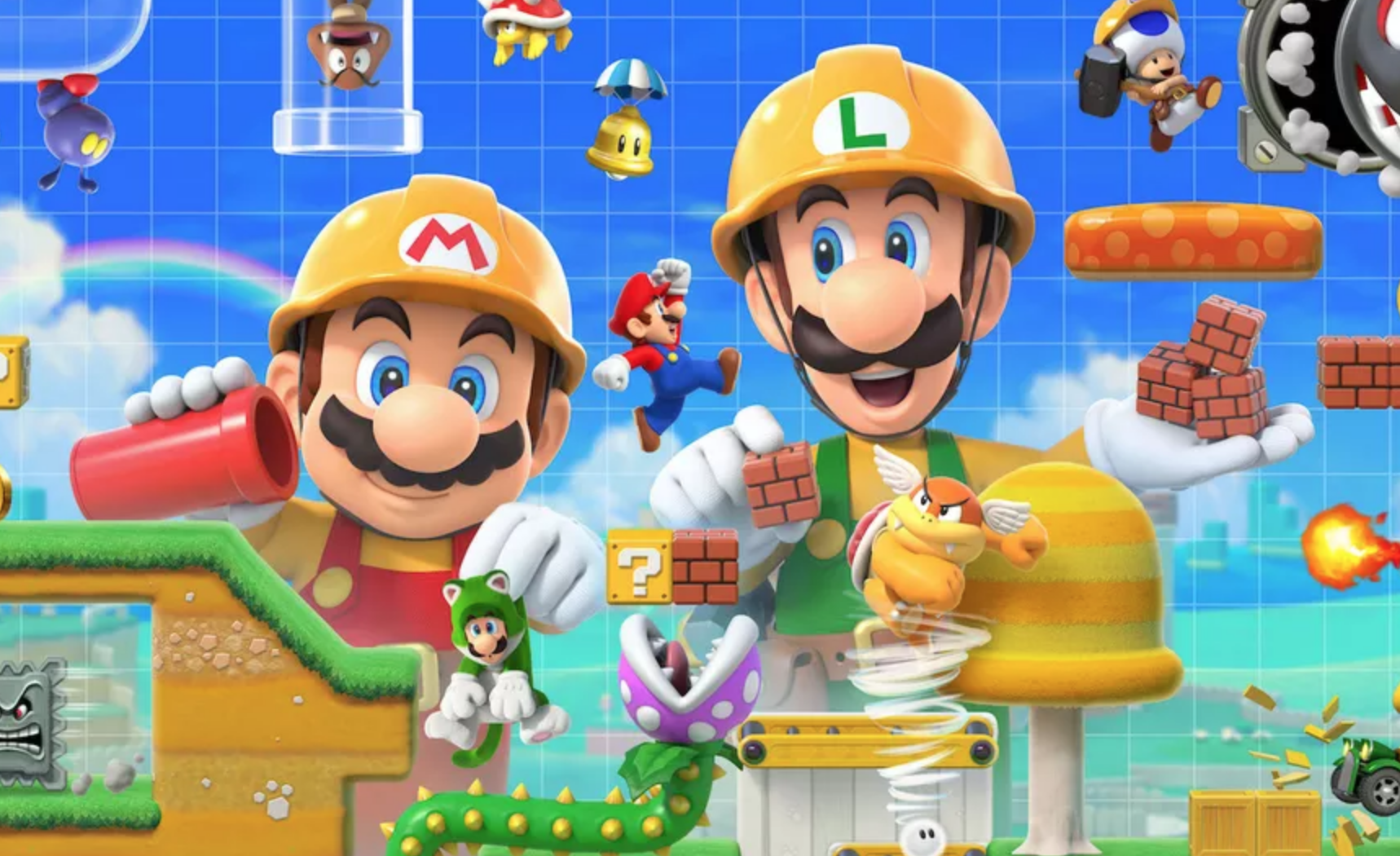 Playing As Luigi In Super Mario Maker 2 Probably Won't Help You Complete Levels Faster