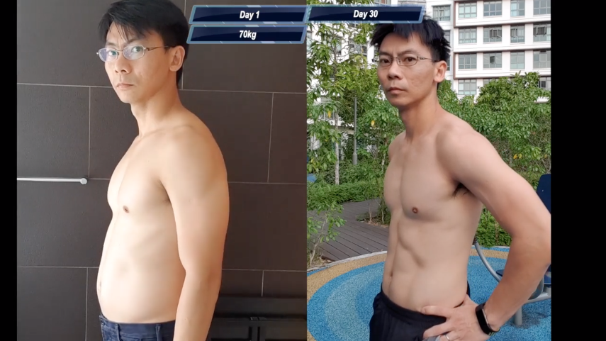 Dude Trains Like One-Punch Man, Gets Ripped