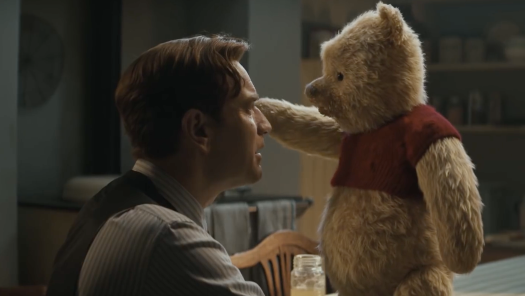 Our Latest Look At Christopher Robin Is All About How Pooh Will Save His Friend From A Midlife Crisis