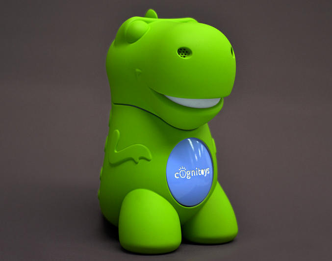 This Cute Dino Toy Is Baby's First AI Pal/Overlord