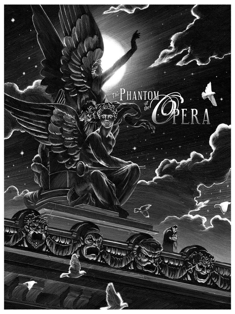 The Phantom of the Opera Terrifies In this Menacing New Poster