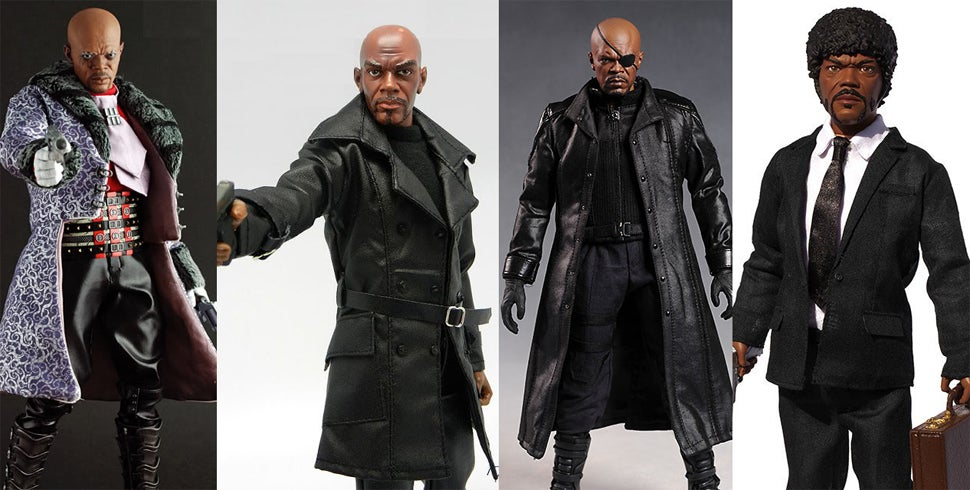 Which Actors Played the Most Characters That Got Action Figures?