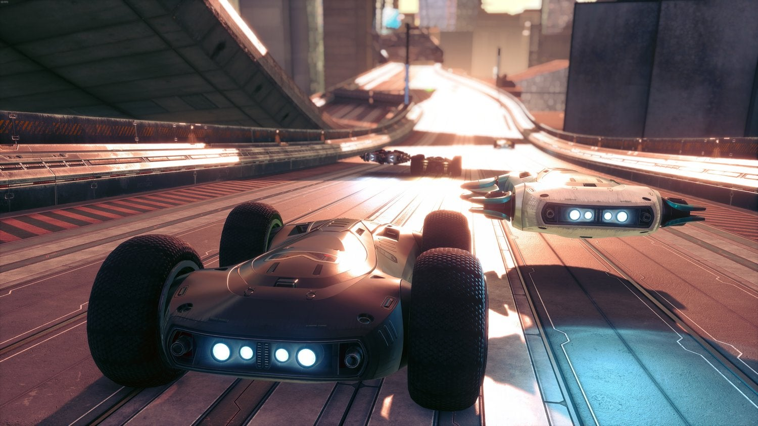 Racing Game's Free Update Lets You Swap Wheels With Hoverjets