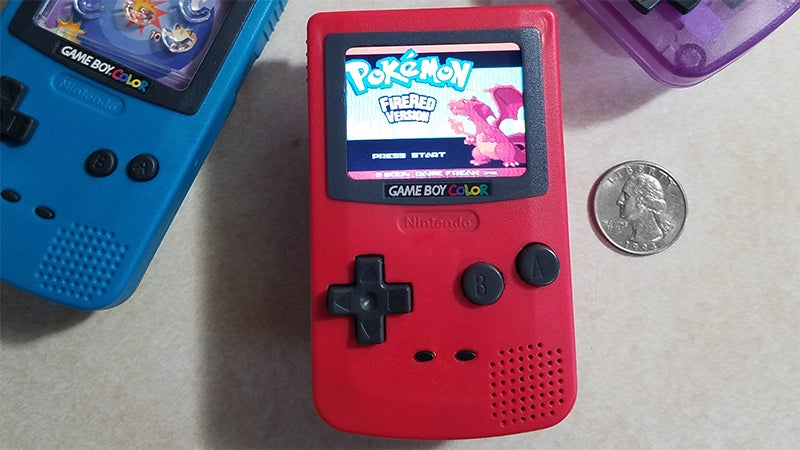 Someone Turned A Burger King Toy Into A Game Boy Colour Nano