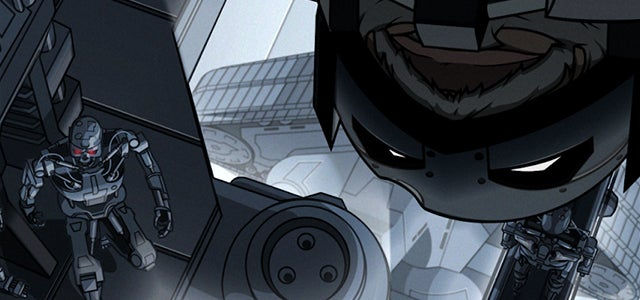 Somebody please make this Batman vs Terminator into a movie ASAP