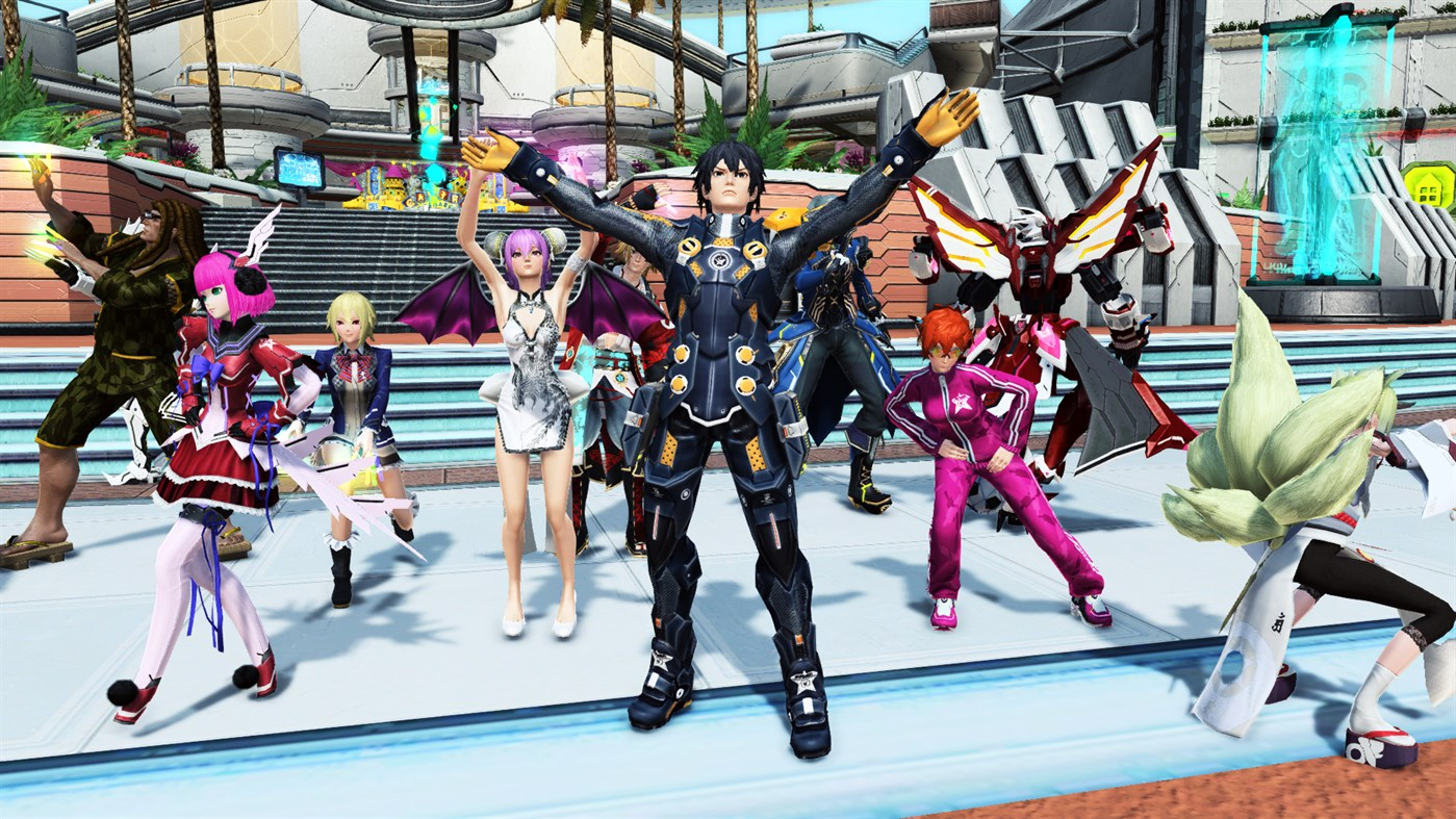 Phantasy Star Online 2's Microsoft Store Launch Has Been A Mess