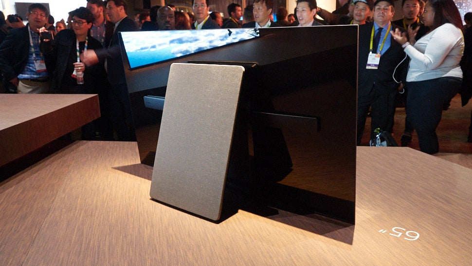 Sonys New Oled Tv Is Both The Screen And The Speaker Gizmodo