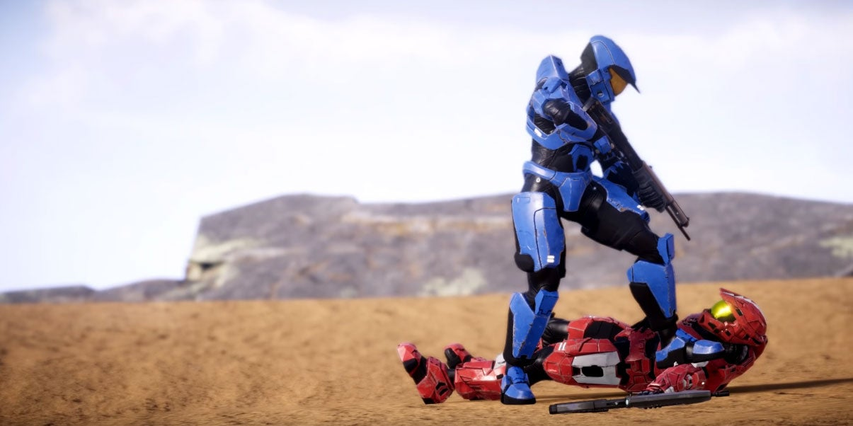 A Cinematic Trailer For A Fan-Made Halo Game