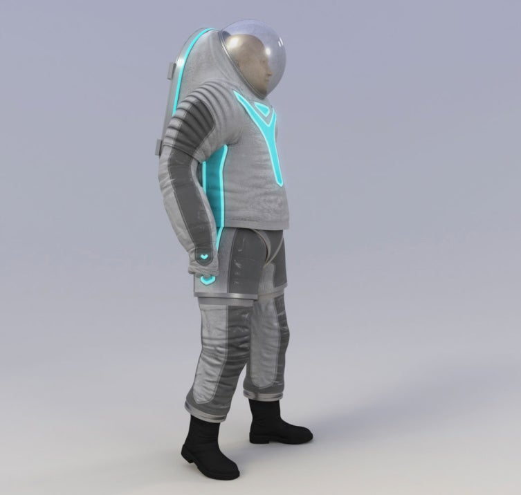 NASA reveals its next generation Tron spacesuit