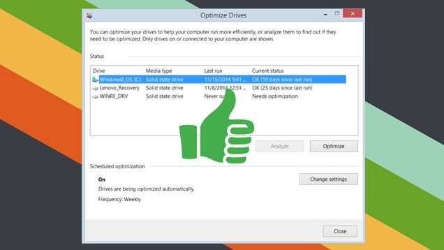 Windows Does Defragment SSDs, But It's OK