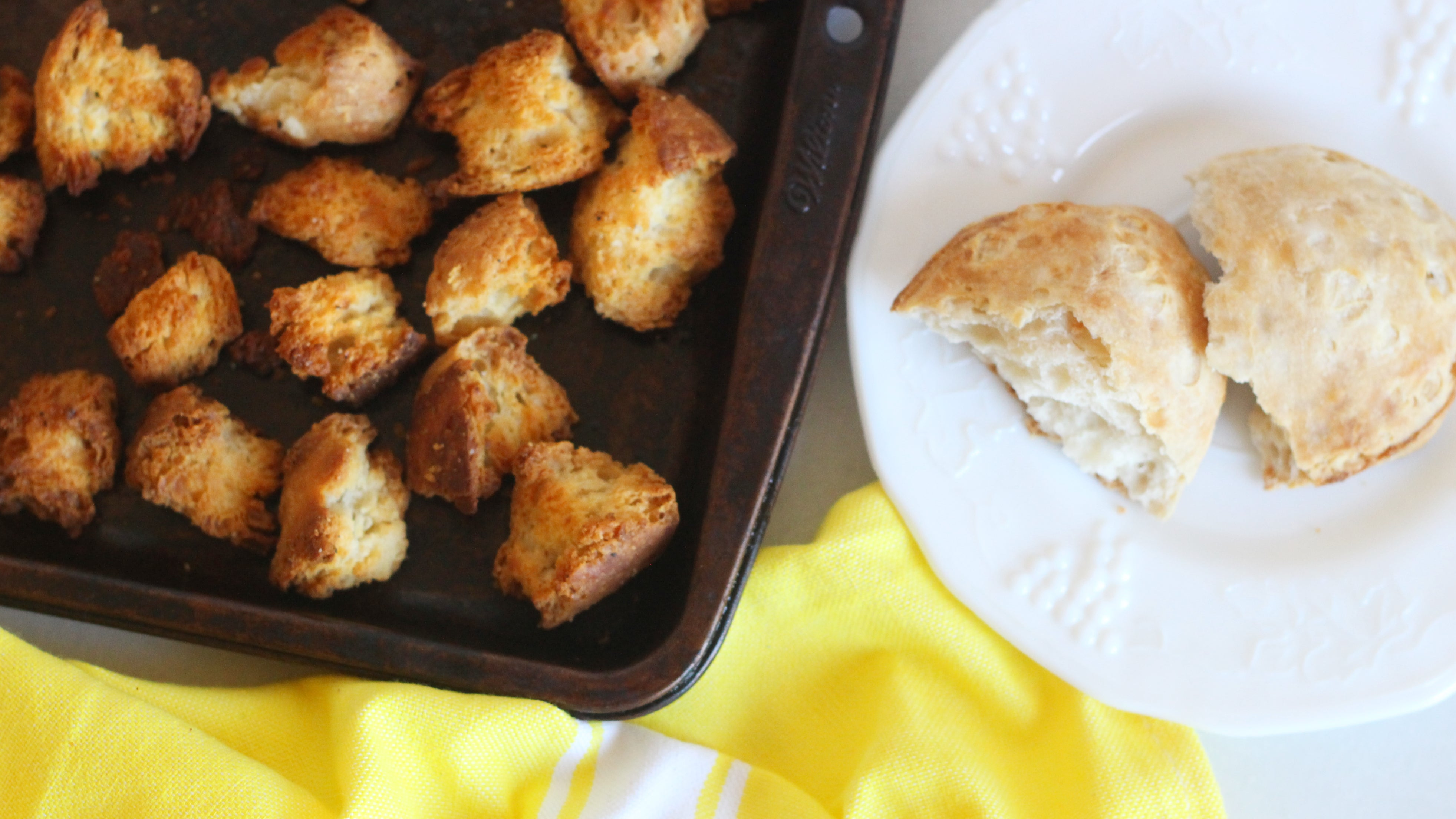 Turn Sad, Stale Scones Into Delicious Croutons
