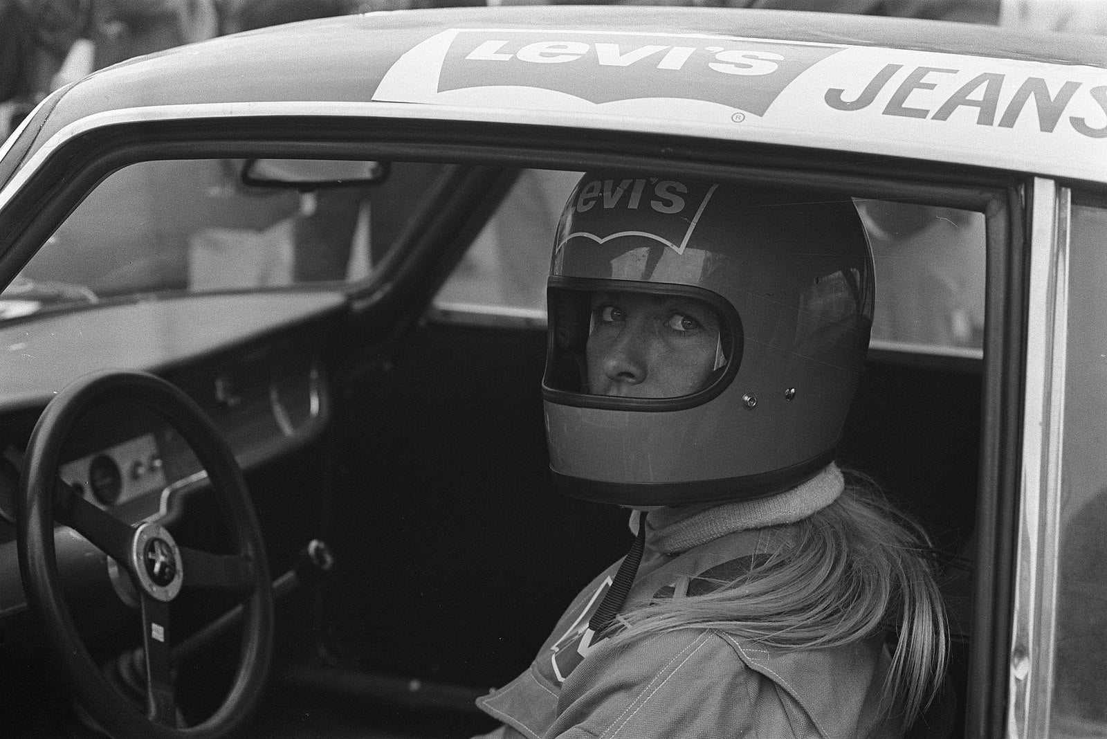 How Liane Engeman Became A Race Car Driver By Waiting At A