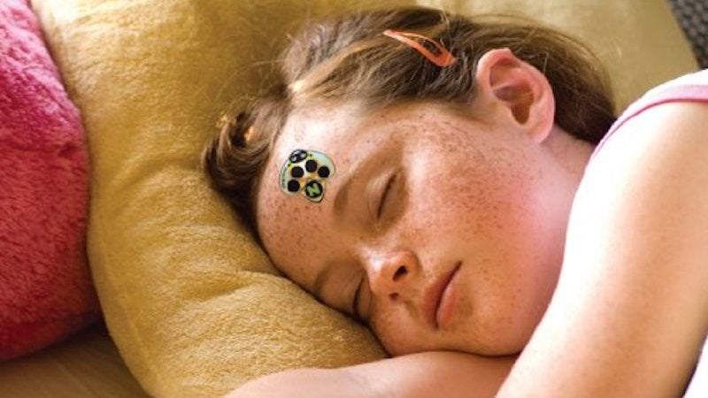 These Stickers Tell You If Your Kid Has A Fever So You Don't Have To Wake Them