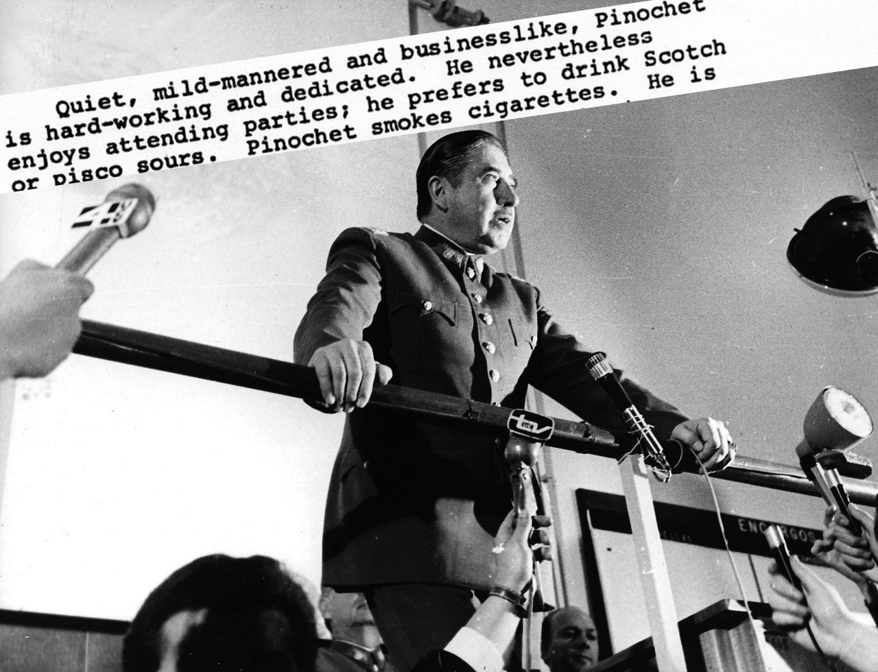 CIA Releases Files That Describe Ruthless Chilean Dictator Pinochet As 'Warm' And 'Mild-Mannered'
