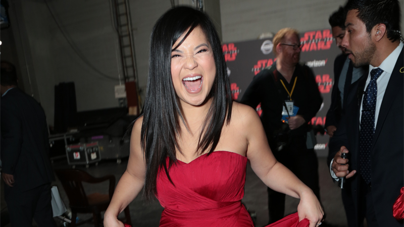 Kelly Marie Tran's Emotional Night Was The Highlight Of Star Wars: The Last Jedi's Premiere