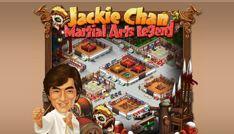 The Jackie Chan Licensed Facebook Game You Never Heard Of