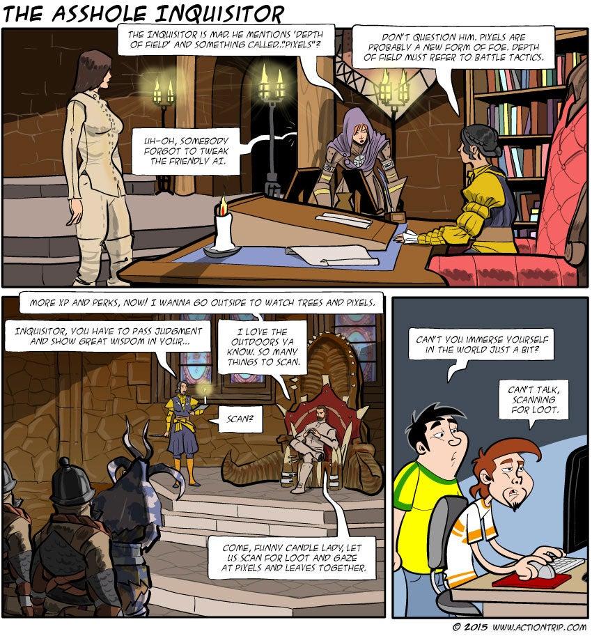 Sunday Comics: Scanning For Loot
