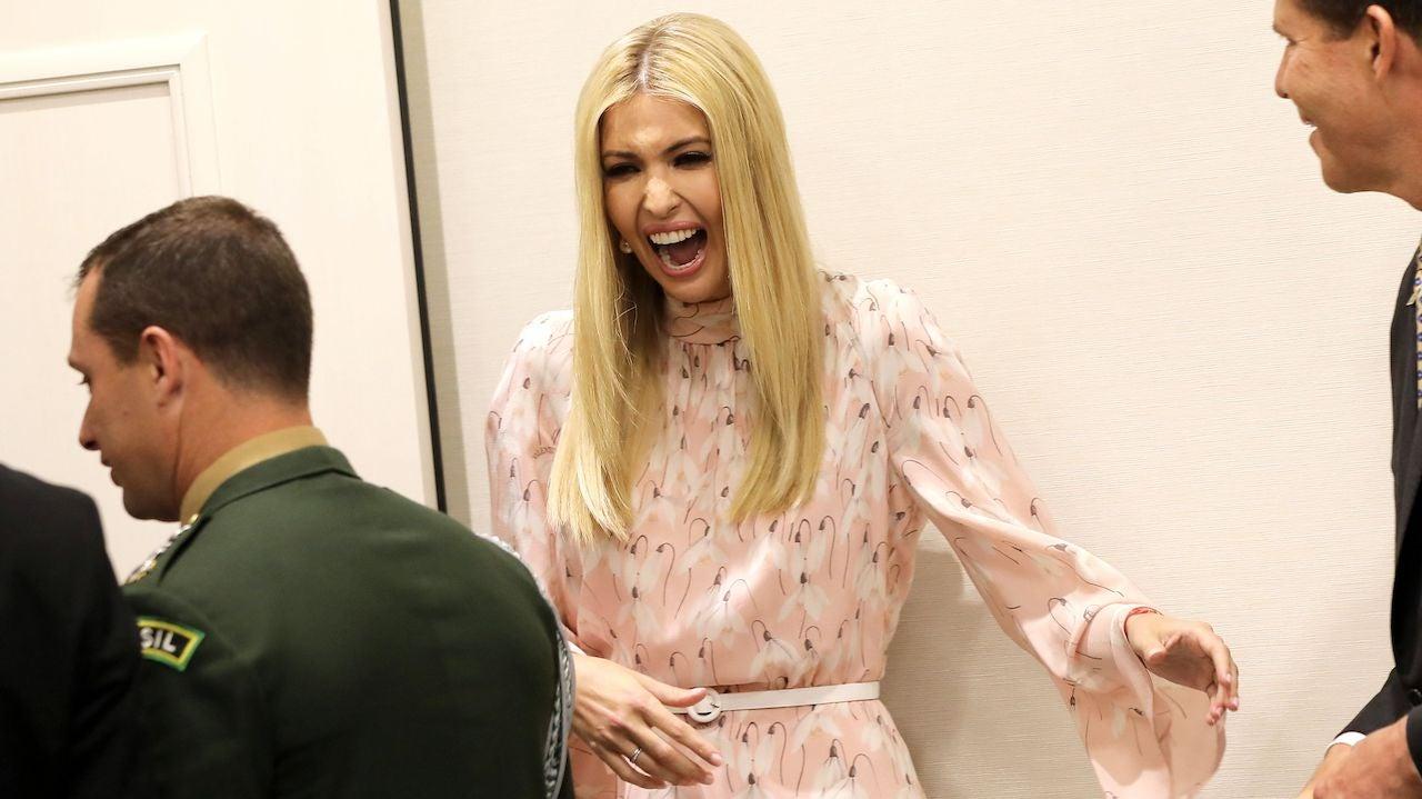 Why The Hell Is Ivanka Trump Speaking At CES?