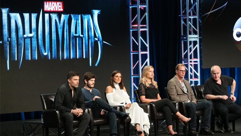 It Sounds Like Inhumans' Latest Press Panel Didn't Go So Well