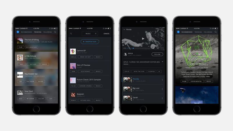BitTorrent Now Is A Music And Video Streaming App For Android And The Web, iOS On The Way