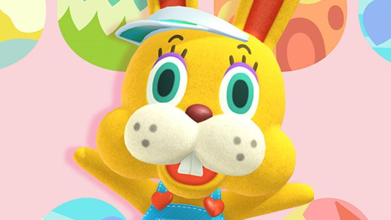 Animal Crossing's Bunny Day Mascot Is A Lot To Deal With Right Now