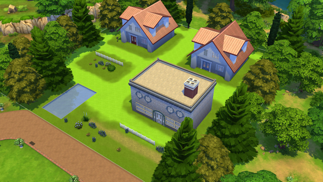 Pokémon's Pallet Town In The Sims 4