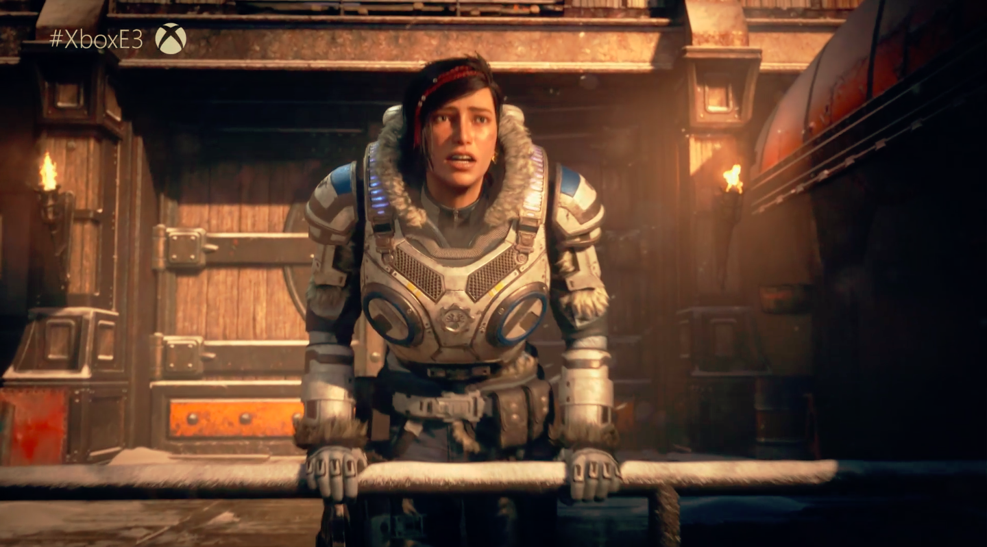 Microsoft Announces Gears Of War 5 (And Two Spinoffs)