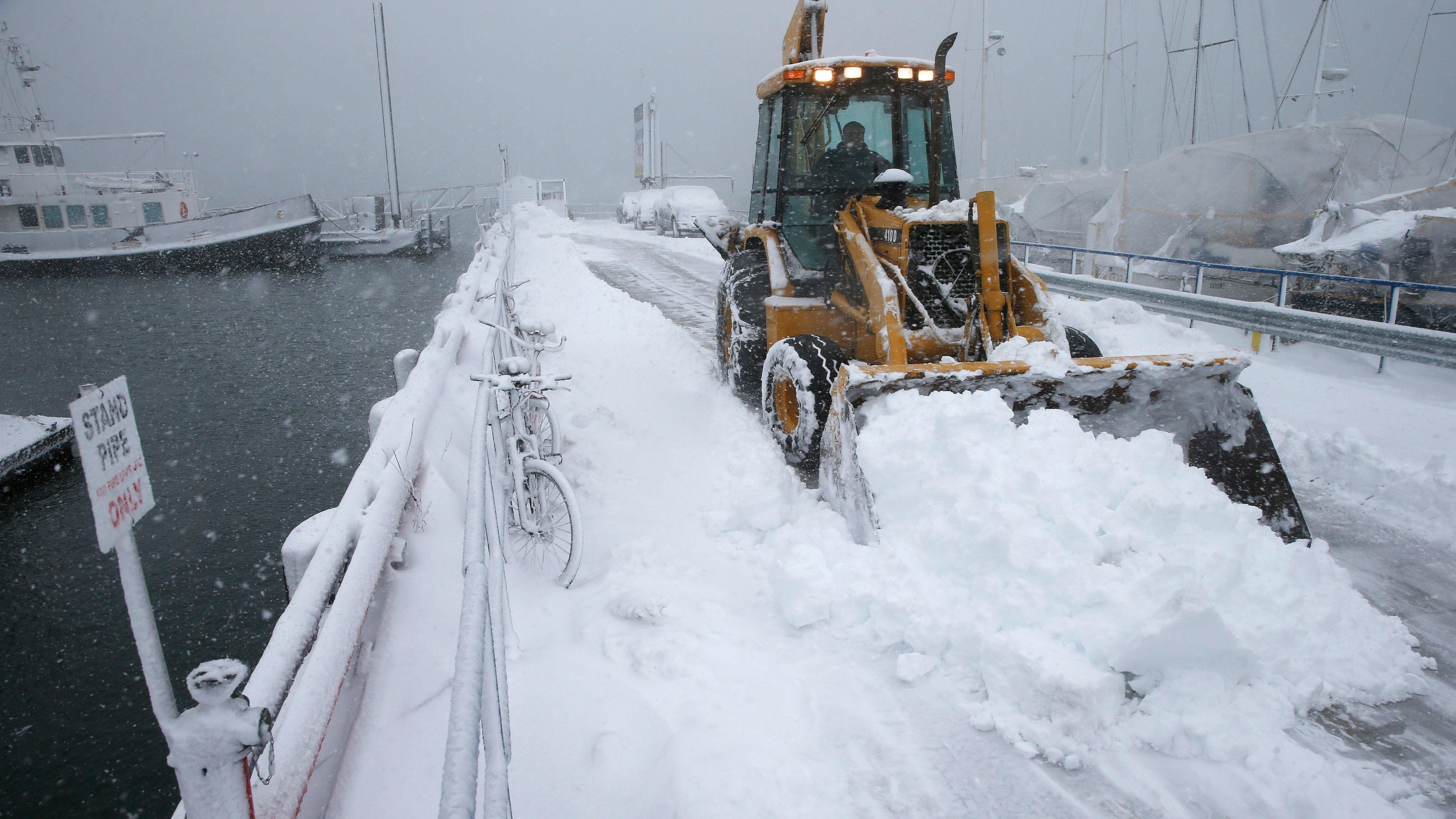 Bummer: Global Warming Won't Make Giant Winter Snow Storms Go Away