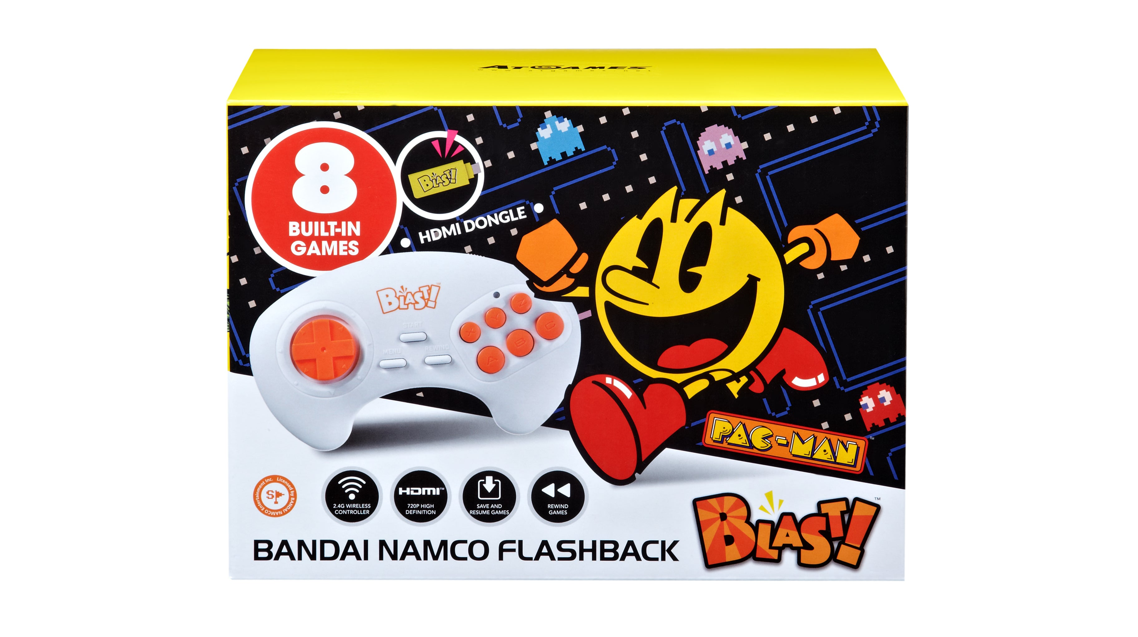'Flashback' Maker Trades Twitter Snipes With Fans Over Downgraded Pac-Man Plug-N-Play