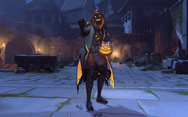 Here Are Overwatch S Halloween Skins Available Now