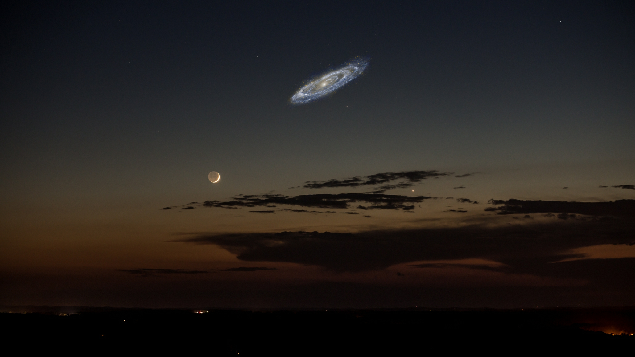 The Andromeda Galaxy Is Not Nearly As Big As We Thought