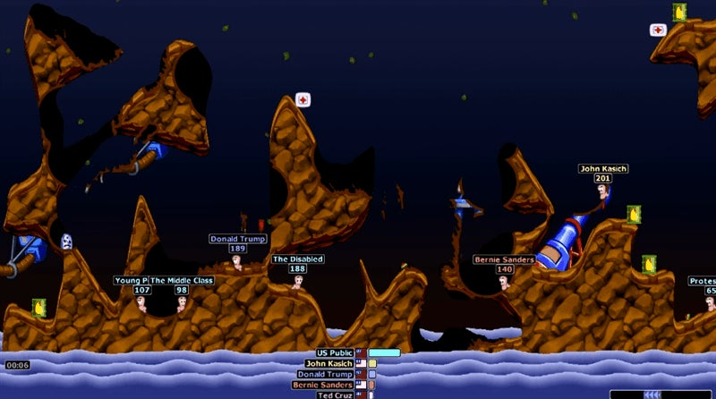 Worms Armageddon Feels Like An Appropriate Way To Predict The U.S. Presidential Race