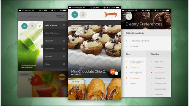 Yummly Suggests Recipes Based on Cooking Skill, Weather, and More